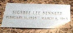 Sigsbee Lee Bennett