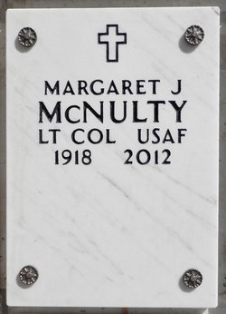 Margaret J McNulty
