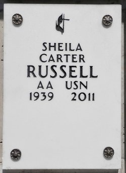 Sheila <I>Carter</I> Russell