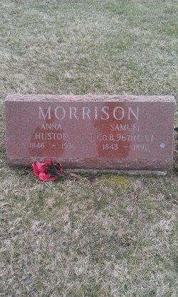 Anna <I>Huston</I> Morrison