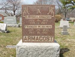 Frances Matilda <I>Wisner</I> Armacost