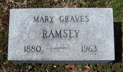 Mary M. <I>Graves</I> Ramsey