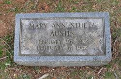 """Mary Ann """"Annie"""" <I>Stultz</I> Austin"""