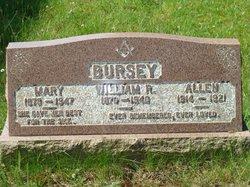 Mary <I>Brown</I> Bursey