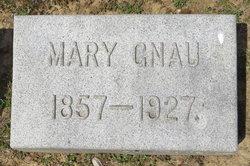 Mary <I>Klug</I> Gnau