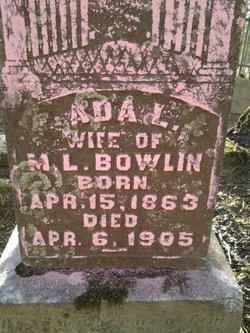 Ada L. <I>Hodges</I> Bowlin