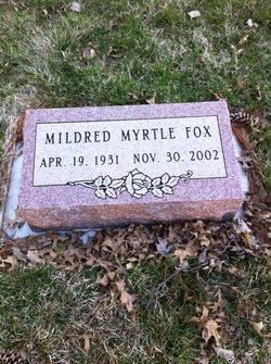 Mildred Myrtle <I>Dengler</I> Fox