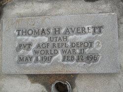 Thomas Harold Averett