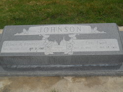 Esther Amelia <I>Adamson</I> Johnson