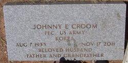 Johnny E Croom