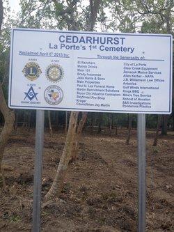 Cedarhurst Cemetery