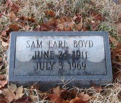 Sam Earl Boyd