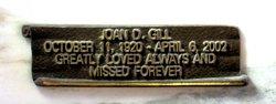 Joan <I>Davidis</I> Gill
