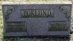 Annajane <I>Wilson</I> Ecklund