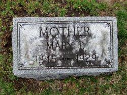 Mary P <I>Webb</I> Timmerman