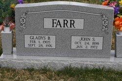 Gladys Bessie <I>Chartrand</I> Farr