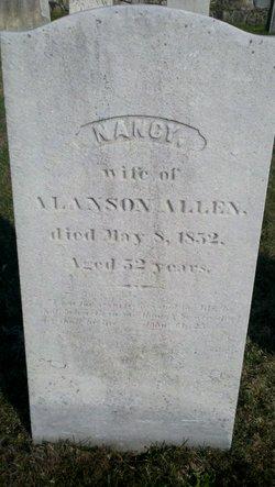 Nancy <I>Olmsted</I> Allen