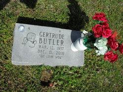 Gertrude <I>Hamm</I> Butler