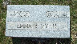 Emma B. <I>Emery</I> Myers