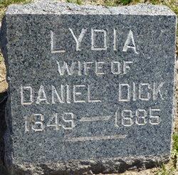 Lydia <I>Quinn</I> Dick