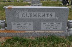 """Emily Elizabeth """"Emily"""" <I>Page Eberle</I> Clements"""