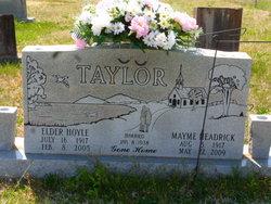 Mayme Elizabeth <I>Headrick</I> Taylor