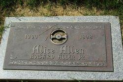 Alice Norma <I>Rotermund</I> Allen