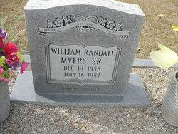 William Randell Myers, Sr