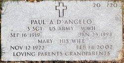 Paul A D'Angelo