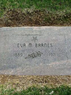 Eva May <I>Taylor</I> Barnes