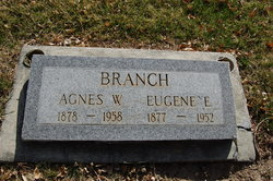 Agnes Winniefred <I>Liddell</I> Branch