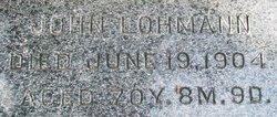 "Johannes ""John"" Lohmann"