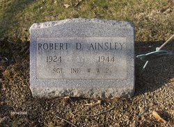"Sgt Robert D. ""Bob"" Ainsley"