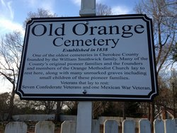 Old Orange Cemetery