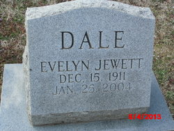 Evelyn <I>Jewett</I> Dale