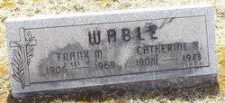 Frank Martin Wable