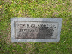 Foy B Gilmore