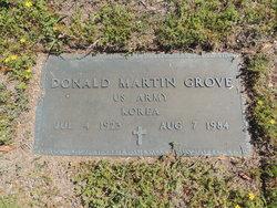 Donald Martin Grove