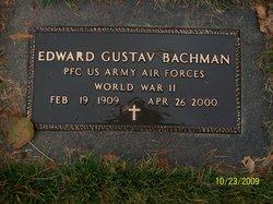 PFC Edward Gustav Bachman