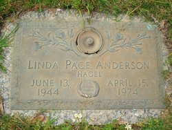 Linda Pace <I>Hagel</I> Anderson