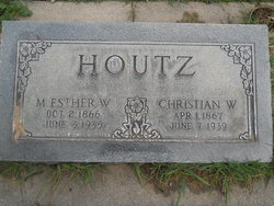 Mary Esther <I>Waters</I> Houtz