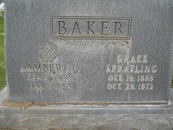 Grace <I>Spratling</I> Baker