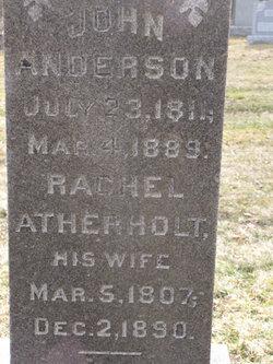 Rachel <I>Atherholt</I> Anderson