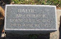 Hattie Sophia <I>Whippo</I> McCormick