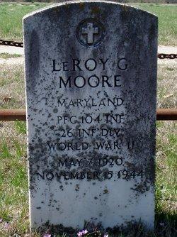PFC LeRoy Granville Moore