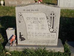 Cynthia <I>Searcy</I> Greene