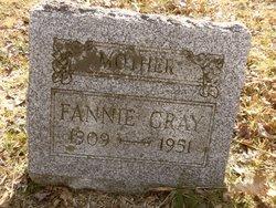 Fannie <I>Richardson</I> Gray