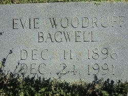 Evie <I>Woodruff</I> Bagwell
