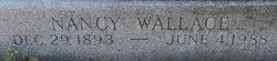 Nancy <I>Wallace</I> Shirk