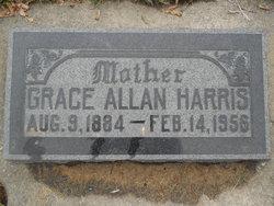 Grace <I>Allan</I> Harris